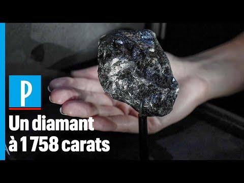 Le 2e Plus Gros Diamant Brut Du Monde Exposé à Paris