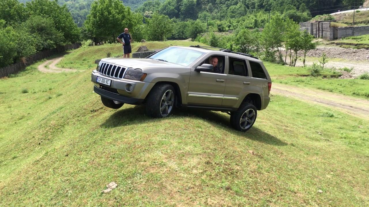 Jeep Wk 4 7 Quadra Trac Ii Offroad Georgia 1 06 2017 Youtube