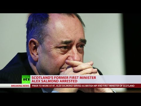 Scotland's former First Minister Alex Salmond arrested