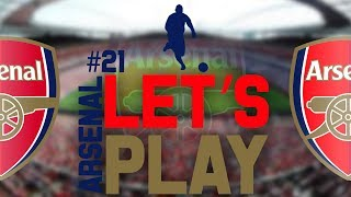 Football Manager 2014 Let's Play - Arsenal #21 | CHAMPIONS LEAGUE VS BARCELONA! | Gameplay