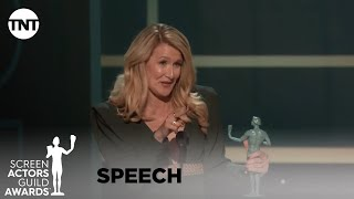 Laura Dern: Award Acceptance Speech | 26th Annual SAG Awards | TNT