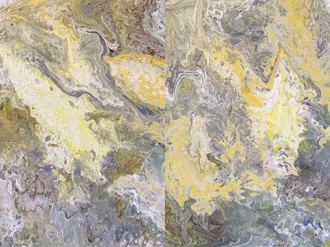 (32) How to do an Acrylic DIrty Pour with Sandra Lett 122117