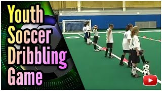 Video Fun Drills for Youth Soccer - Dribbling the Ball Game - Coach Joe Luxbacher download MP3, 3GP, MP4, WEBM, AVI, FLV Desember 2017