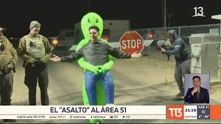 """Llegó el día del """"asalto"""" al Área 51"""