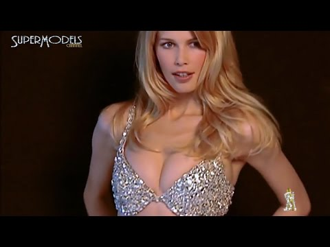 Claudia Schiffer  First tasy Bra  Victoria´s Secrets 1997 Fashion  by Supermodels Channel