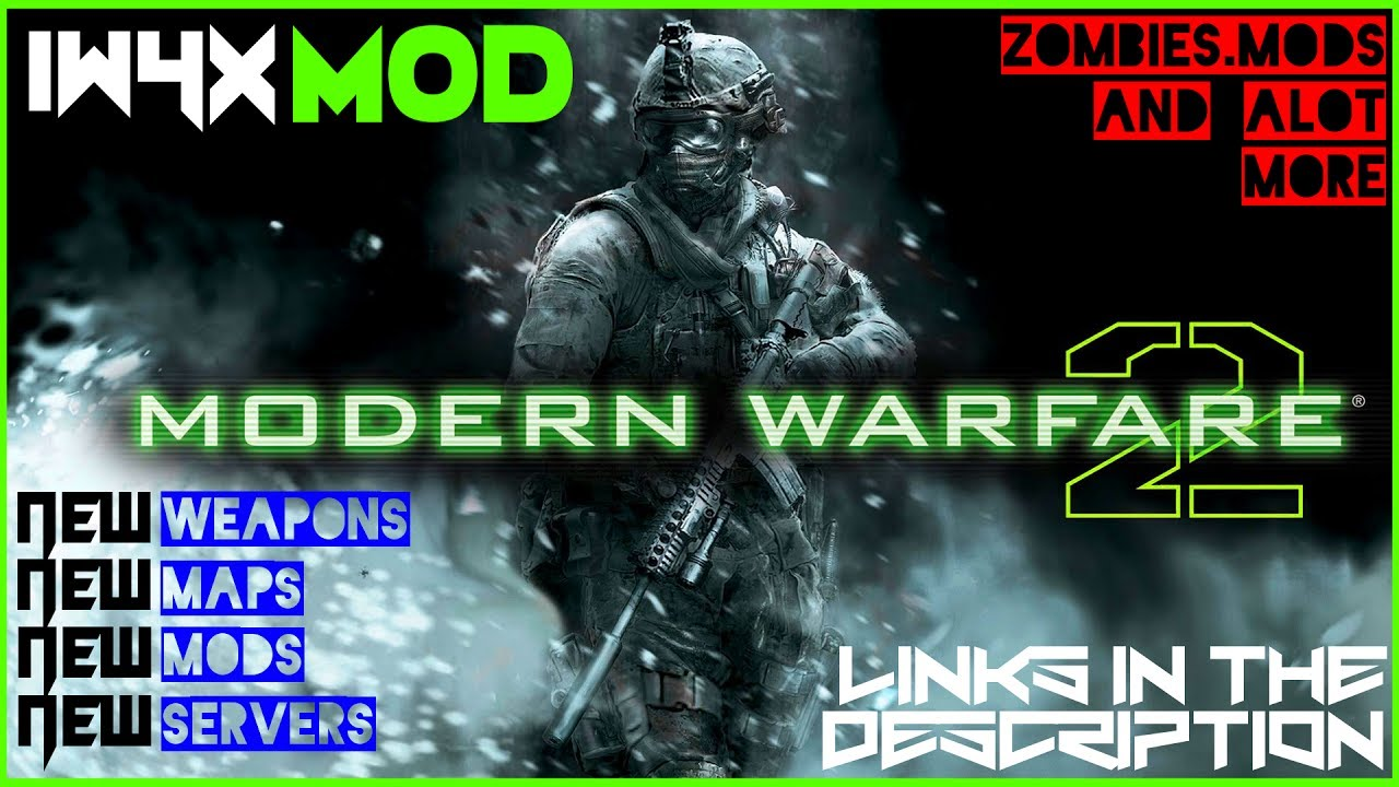 Modern Warfare 2 - IW4X Cracked Multiplayer Online - February 2019 (new  version in description)