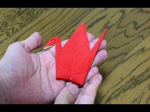 形状記憶で勝手に折り鶴になる布