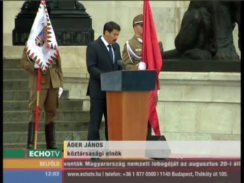 Áder: Ismét meg kell védenünk határainkat - Echo Tv