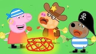 小猪佩奇 | 万圣节特辑🎃 | 1小时 | 海盗 | 粉红猪小妹|Peppa Pig Chinese |动画