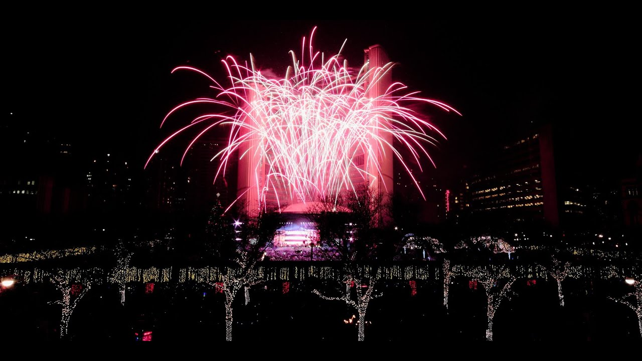 canada fireworks 2015 hd toronto happy new years 2015 youtube