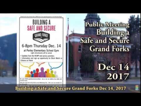 Building a Safe and Secure Grand Forks Dec 2017