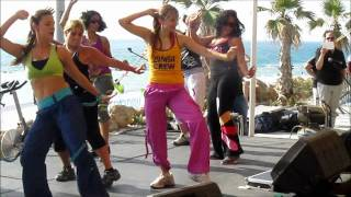Zumba Dance, Slide! Song - Fitness with Natasha זומבה
