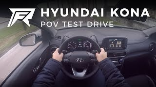 2017 Hyundai Kona 1.0 T-GDI - POV Test Drive (no talking, pure driving)