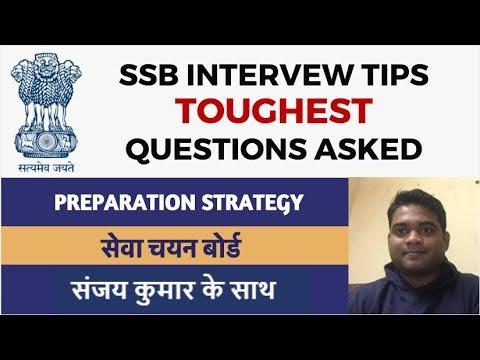 SSB Interview - Toughest Questions Asked -  सेवा चयन बोर्ड by Sanjay Kumar (Ex Indian Army/HMA)