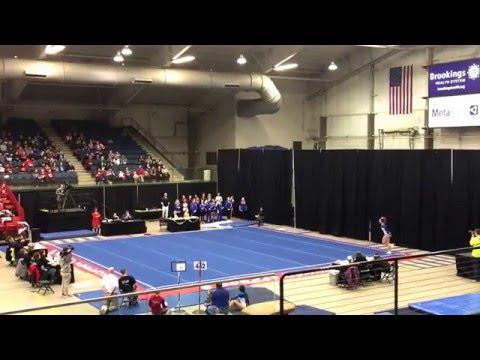 Payton Steffensen - South Dakota High School State Gymnastics - Floor