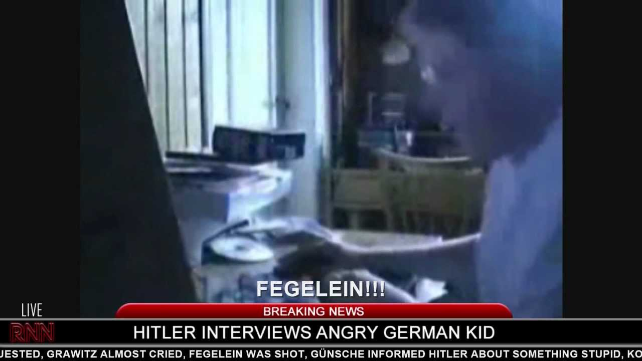 Hitler interviews Angry German Kid