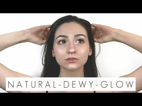 My 10 Minute Mega Glowy No Makeup Makeup Look