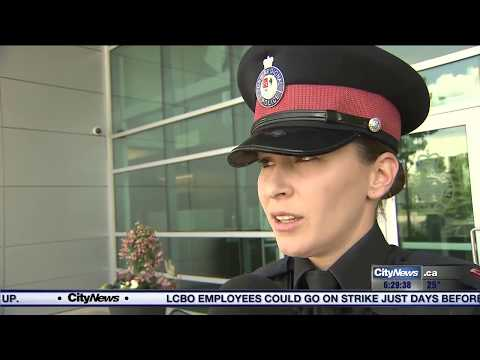 GTA officer's freestyle rap goes viral