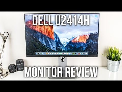 """Dell UltraSharp 24"""" U2414H Monitor Review And Unboxing"""