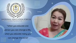 Dr Konika National Education Forum