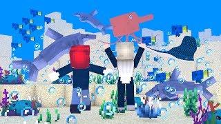 Die NEUE UNTERWASSER WELT in Minecraft!