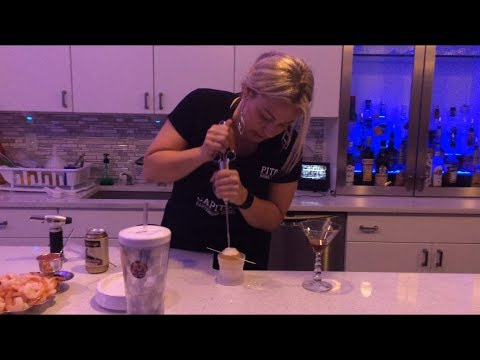 With fire and ice, Capitol Bartending School adds molecular mixology classes