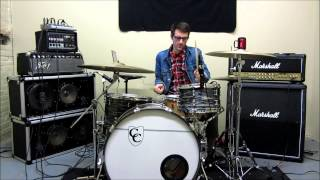 Sonic Youth - WHITE KROSS - Drum Cover