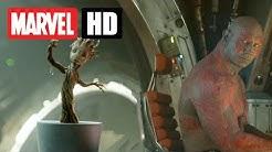 GUARDIANS OF THE GALAXY - Dancing Baby Groot - Exklusiver Clip | Deutsch - Marvel HD