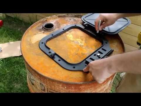 Как сделать из Бочки Печь