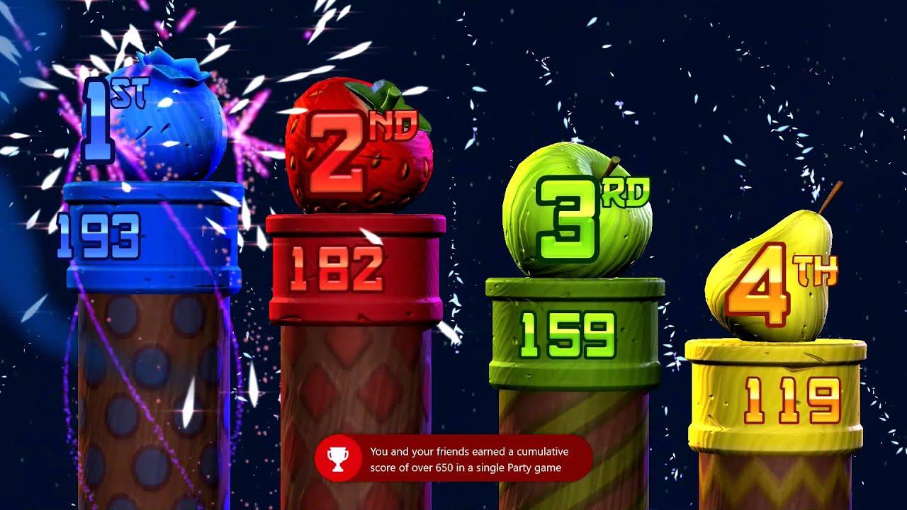 Ninja fruit 2 - Fruit Ninja Kinect 2 All For One And One For All