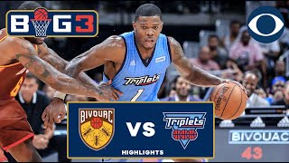 Iso Joe Johnson GOES OFF for 26 Points | Triplets pull off HUGE BIG3 Comeback | CBS Sports