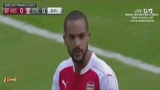 Video Gol Pertandingan Arsenal vs Stoke City