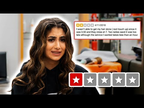 GOING TO THE WORST REVIEWED HAIR SALON IN MY CITY | Nicolette Gray