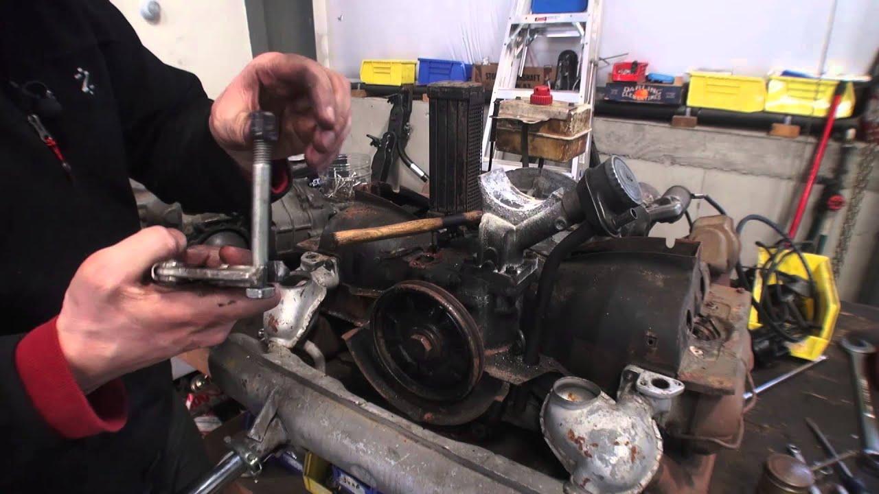 Classic Vw Bugs How To Fix Broken Beetle Fuel Pump Base