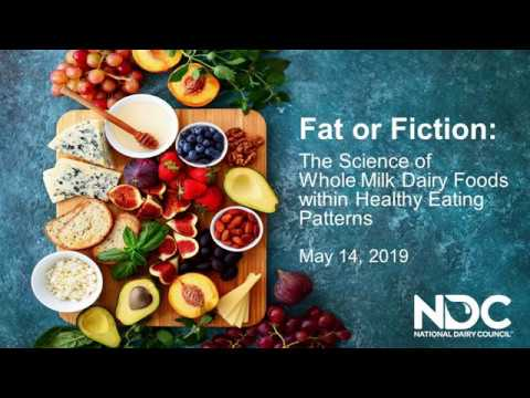 Fat or Fiction  The Science of Whole Milk Dairy Foods