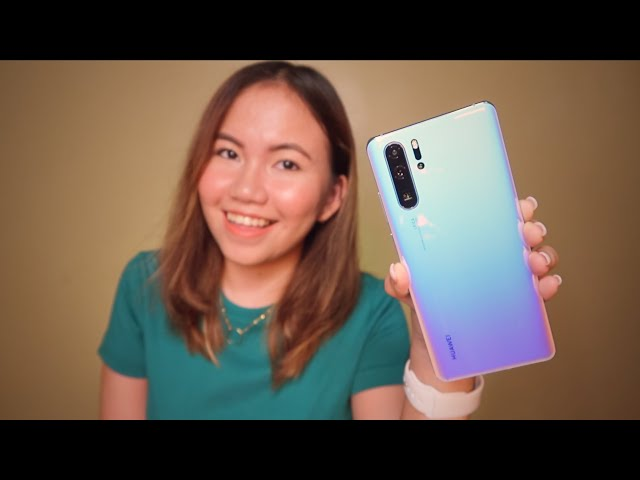 HUAWEI P30 PRO UNBOXING & FIRST IMPRESSIONS