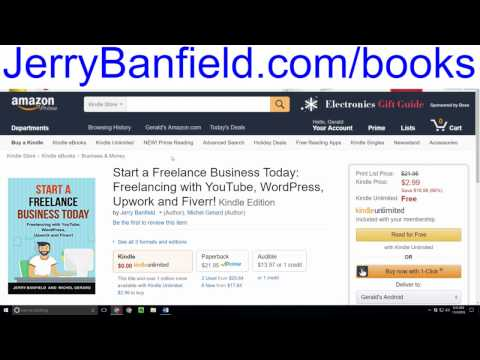 Start a Freelance Business Today! Freelancing with YouTube, WordPress, Upwork, and Fiverr!