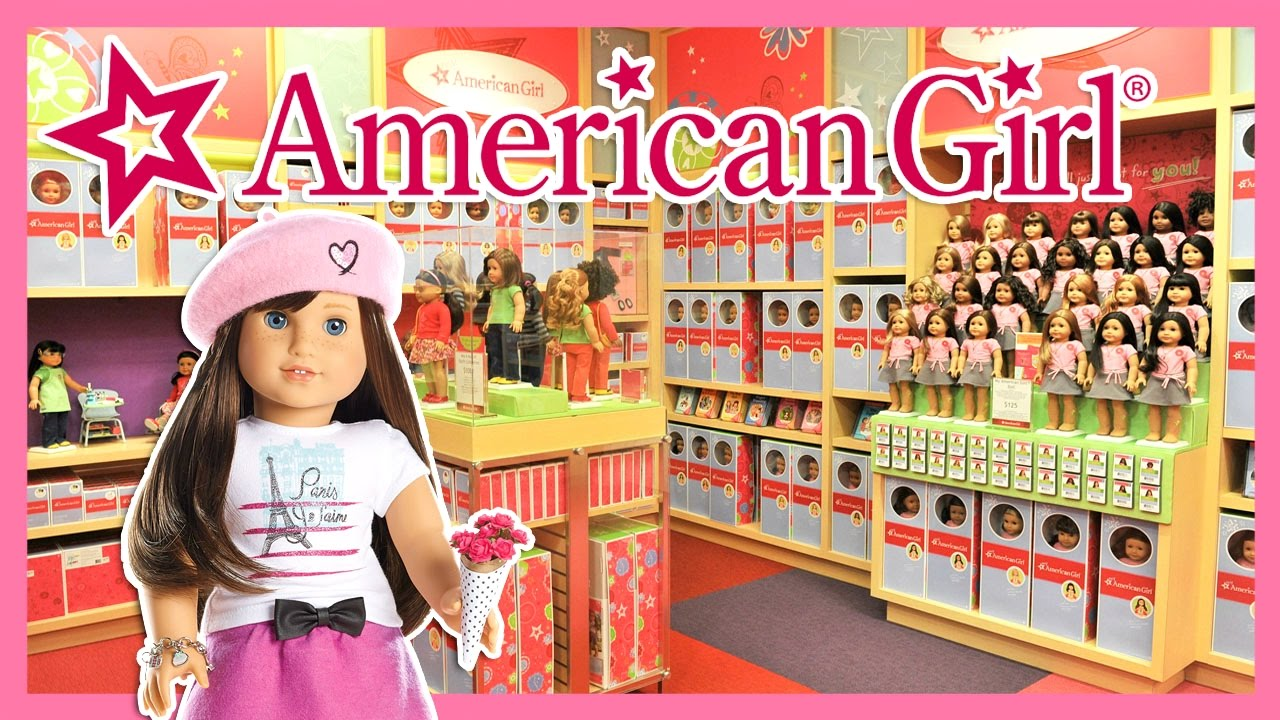 REAL LIFE American Girl Doll Place NEW YORK CITY YouTube