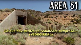 Descubren Acceso Secreto al AREA 51 (VIDEO REAL)
