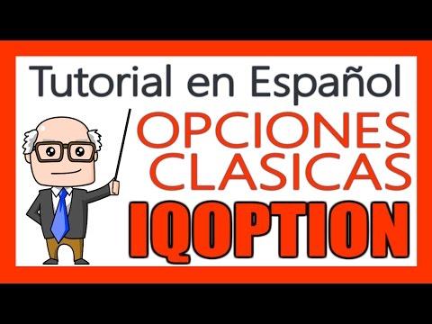 💡 ¿Qué son las OPCIONES CLASICAS de IQOPTION? Tutorial de Explicación Completa en Español