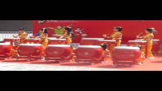 聖公會主風小學 24式中国鼓 2015