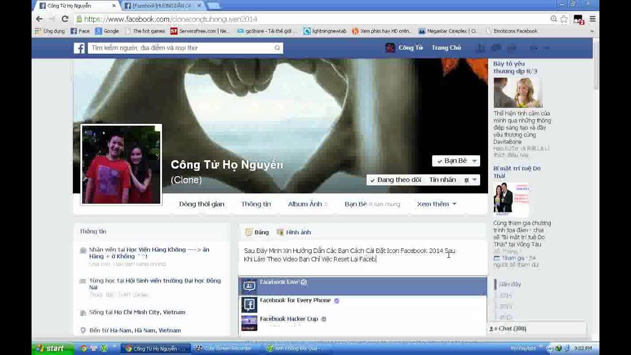 Mẹo hay cài đặt icon facebook đơn giản hiệu quả nhất không nên bỏ qua