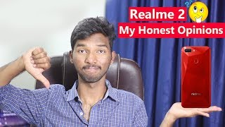 Realme 2 - My Honest Opinions || in telugu