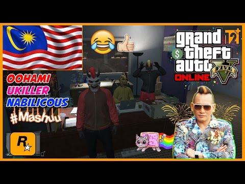 GTA 5 Online Malaysia || Dato