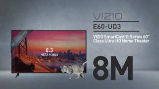 "All-New 2016 VIZIO E60u-D3 SmartCast E-Series 60"" Class Ultra HD  // Full Specs Review  #VIZIO"