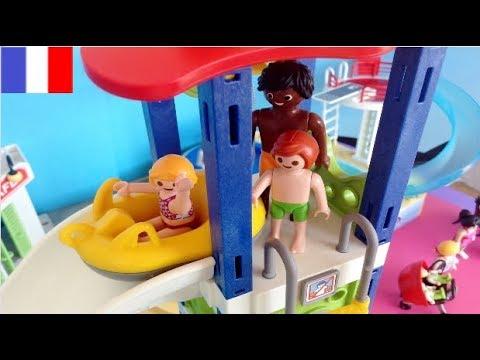 Playmobil Piscine Pool Summer Fun  Family Fun  Youtube