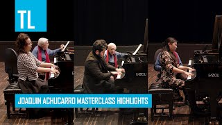 Joaquín Achúcarro Masterclass Highlights