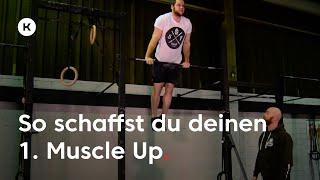 Tutorial: Schrittweise zum Muscle Up