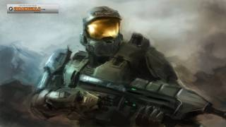 Master Chief Halo digital painting tutorial