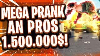 😂💩EPIC GAMES PRANKED DIE PRO PLAYER! | Größter Streich im eSports mit 1.500.000$ Preisgeld!